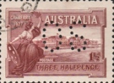 [Postage Stamp Perforated