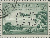 [Airmail - Postage Stamp Perforated
