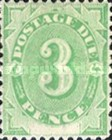[Numeral Stamps - White Field At Bottom, type A3]