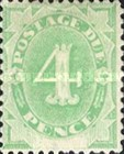 [Numeral Stamps - White Field At Bottom, type A4]