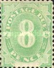 [Numeral Stamps - White Field At Bottom, type A6]