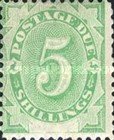 [Numeral Stamps - White Field At Bottom, type A7]