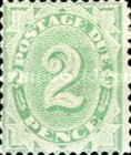 [Numeral Stamps - Frame Fully Colored, type B2]