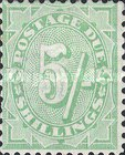 [Numeral Stamps - New Watermark, type B22]