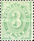 [Numeral Stamps - Frame Fully Colored, type B3]