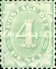 [Numeral Stamps - Frame Fully Colored, type B4]