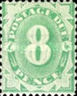 [Numeral Stamps - Frame Fully Colored, type B7]