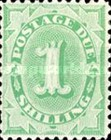 [Numeral Stamps - Frame Fully Colored, type B9]