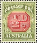 [Numeral Stamps - Different Perforation & Redrawn Frame, type C40]