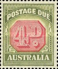 [Numeral Stamps - Different Perforation & Redrawn Frame, type C44]