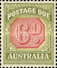 [Numeral Stamps - Different Perforation & Redrawn Frame, type C45]