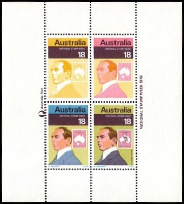 [National Stamps Week, type ]