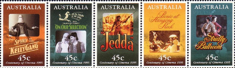 [The 100th Anniversary of the Cinema - Movie Posters, type ]