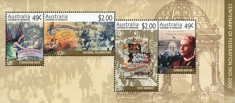 [The 100th Anniversary of the Commonwealth of Australia, type ]