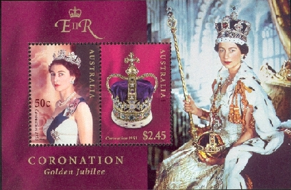 [The 50th Anniversary of The Queen's Coronation, type ]