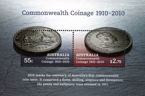 [Australian Commonwealth Coinage 1910-2010, type ]