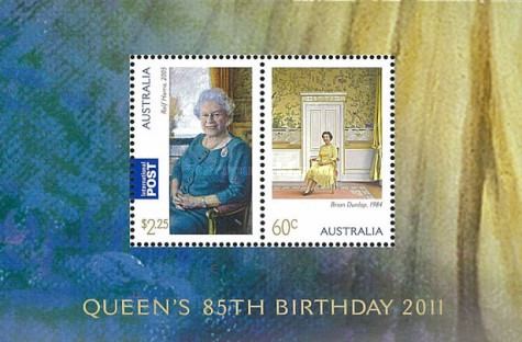 [The 85th Anniversary of the Birth of Queen Elizabeth II, type ]