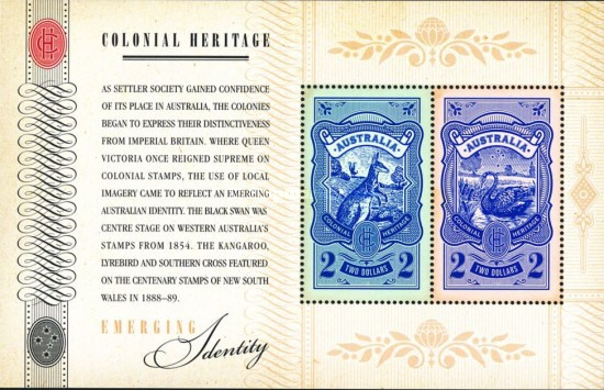 [Colonial Heritage - Emerging Identity, type ]