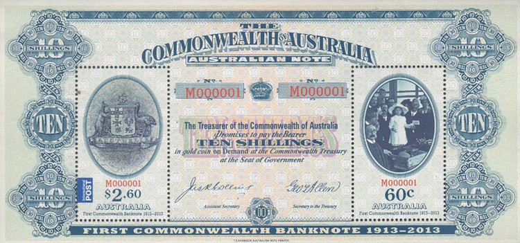 [The 100th Anniversary of the First Commonwealth Banknote, type ]