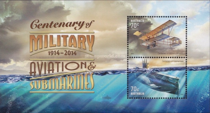 [The 100th Anniversary of Military Aviation and Submarines, type ]