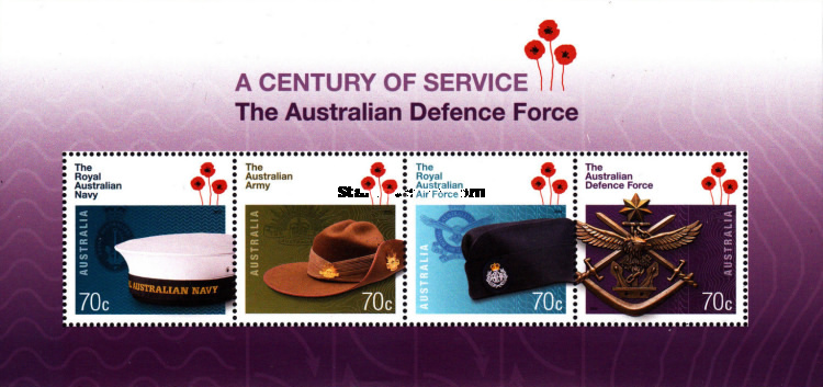 [The 100th Anniversary of the Australian Defence Force, type ]