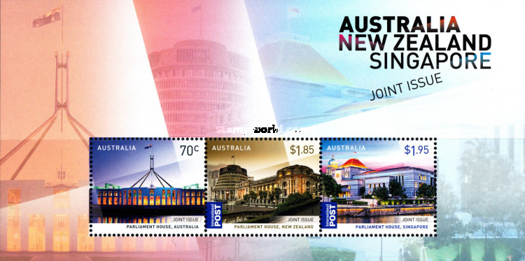 [The 50th Anniversary of Bilateral Relations with New Zealand & Singapore  - Joint Issue with New Zealand & Singapore, type ]