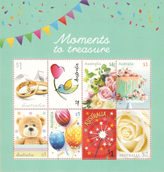 [Greetings Stamps - Moments to Treasure, type ]