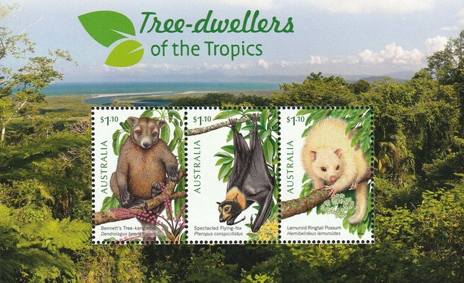 [Fauna - Tree-Dwellers of the Tropics, type ]
