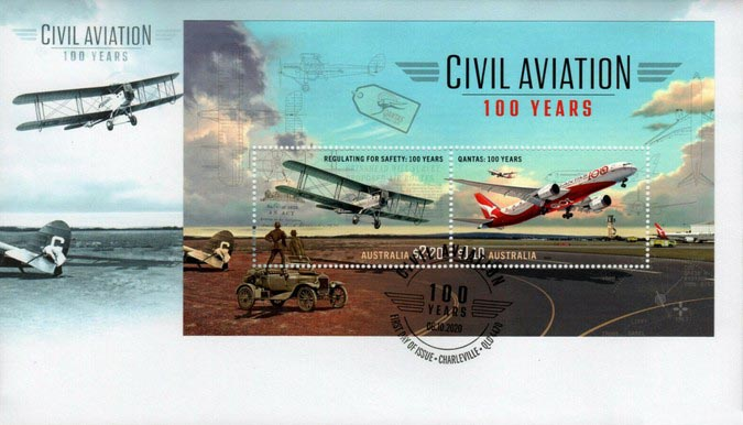 [Transportation - The 100th Anniversary of Qantas, type ]