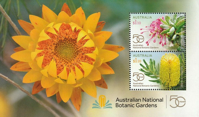 [The 50th Anniversary of the Australian National Botanic Gardens, type ]