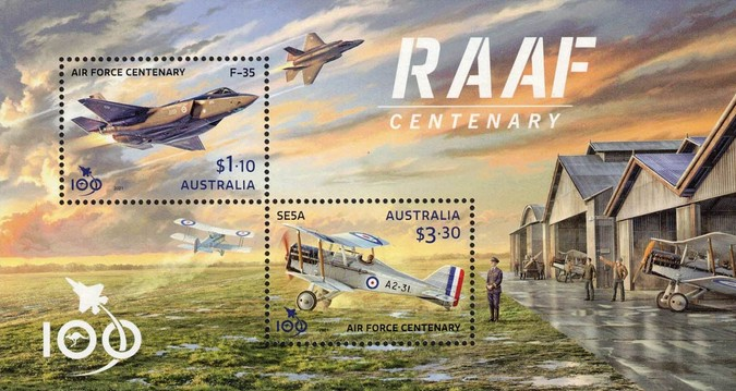 [The 100th Anniversary of the Royal Australian Air Force, type ]