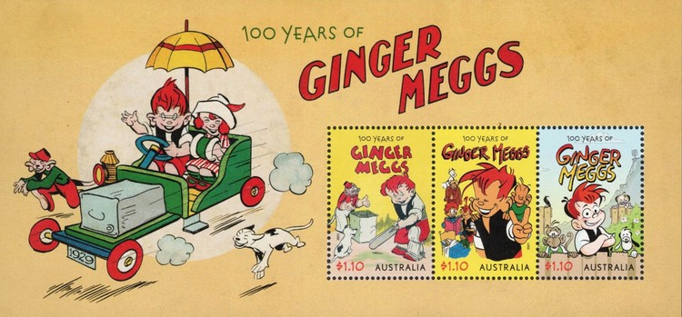 [The 100th Anniversary of Ginger Meggs, type ]
