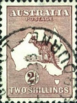 [Definitive Issues - Kangaroo and Map - Different Watermark, type A51]
