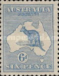 [Definitive Issues - Kangaroo and Map, type A7]