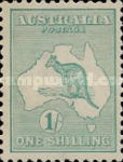 [Definitive Issues - Kangaroo and Map, type A9]