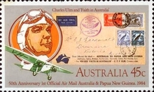 [The 50th Anniversary of the First Official Airmail - Australia, New Zealand and Papua Guinea, type AAZ]