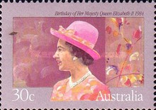 [The 58th Anniversary of the Birth of Queen Elizabeth II, type ABG]