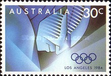 [Olympic Games - Los Angeles, type ABV]