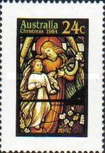 [Christmas -  Stained Glass Windows from Australian Churches, type ACF]