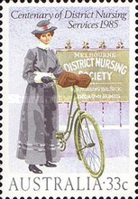[The 100th Anniversary of the District Nursing Services, type ADE]
