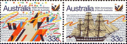 [The 150th Anniversary of South Australia, type AEN]