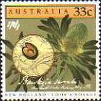 [The 200th Anniversary of the Colonization of Australia - New Holland - Cook`s Voyage, type AEO]