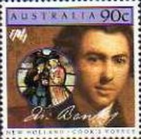 [The 200th Anniversary of the Colonization of Australia - New Holland - Cook`s Voyage, type AES]
