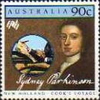 [The 200th Anniversary of the Colonization of Australia - New Holland - Cook`s Voyage, type AET]