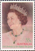 [The 60th Anniversary of the Birth of Queen Elizabeth II, type AEV]