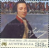 [The 200th Anniversary of the Colonization of Australia, type AFO]