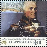 [The 200th Anniversary of the Colonization of Australia, type AFP]