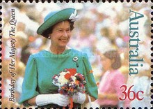 [The 61st Anniversary of the Birth of Queen Elizabeth II, type AHD]