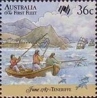 [The 200th Anniversary of the First Fleet Arriving from Tenerife, type AHK]