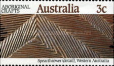 [Aboriginal Crafts - Imperforated Vertical, type AIL]